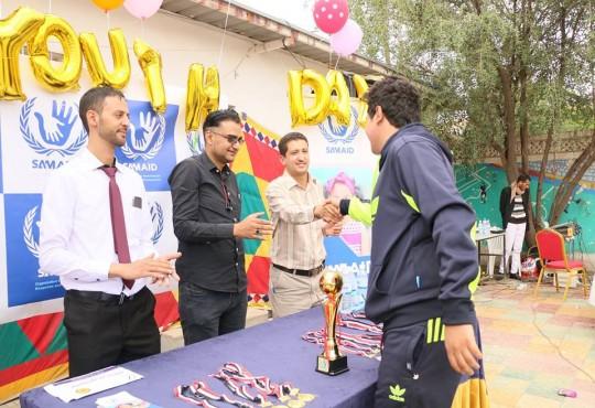 سام إيد في اليوم العالمي للشباب